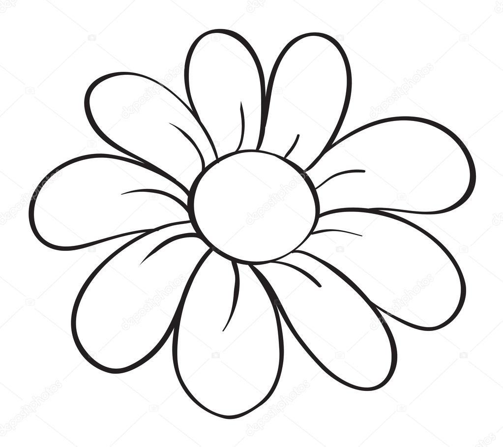 Картинки ромашки нарисовать