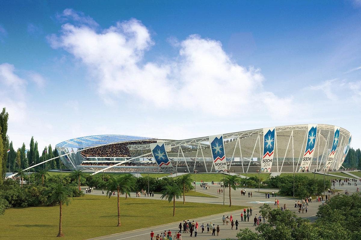 Олимпиада в сочи стадионы фото
