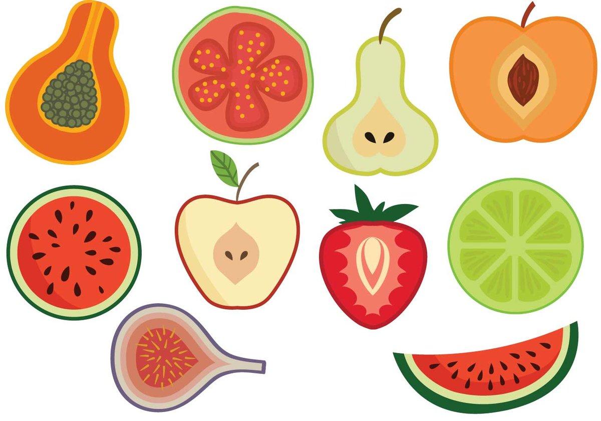 популярный выгодный векторные картинки фрукты отделение
