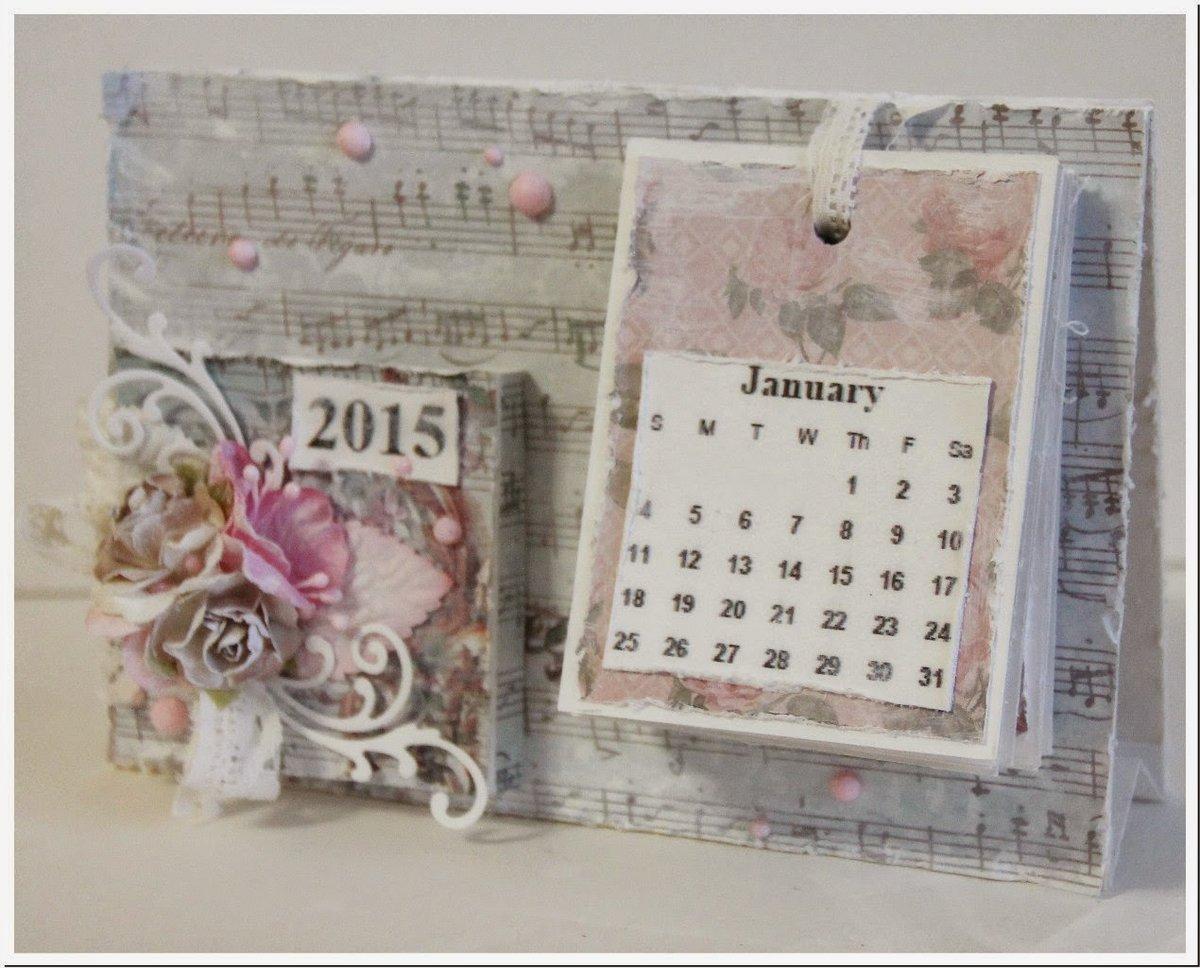 Перекидной календарь своими руками фото 864