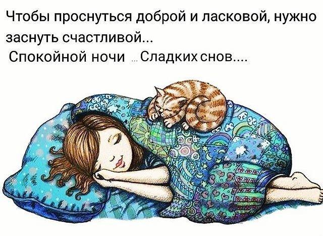 Спокойной ночи в картинках с юмором, снег открытка открытка