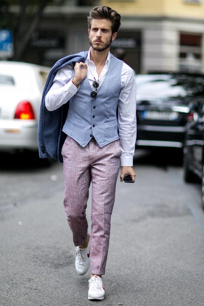 Одетый мужчина картинки