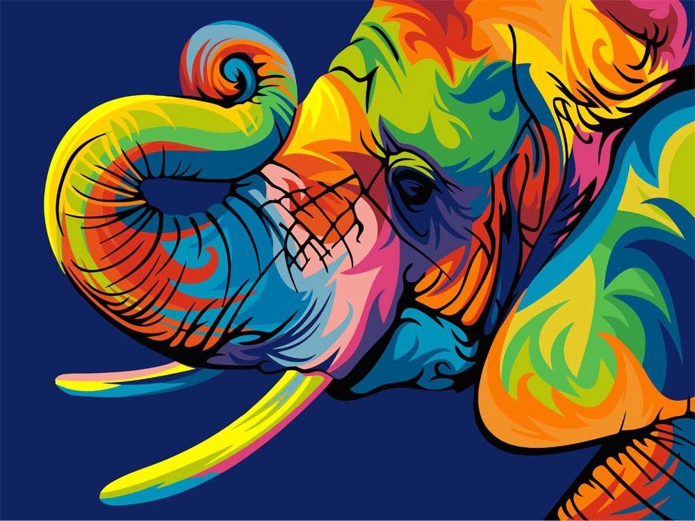 Картинки животных нарисованные яркие