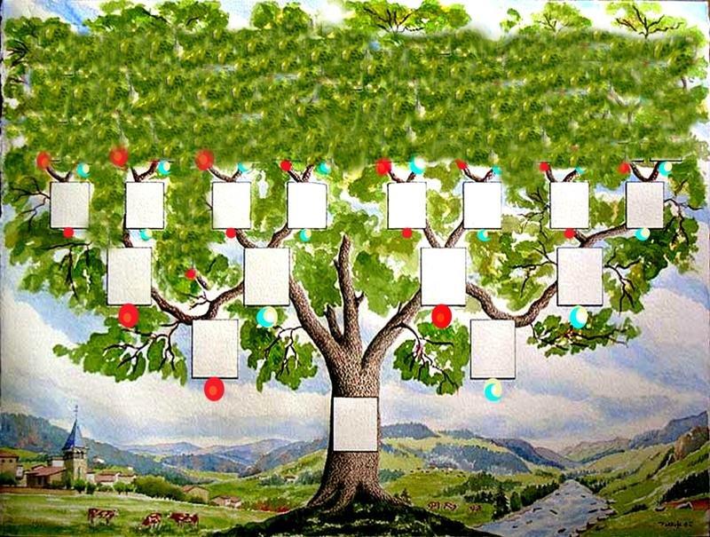 Картинки генеалогическое древо моей семьи
