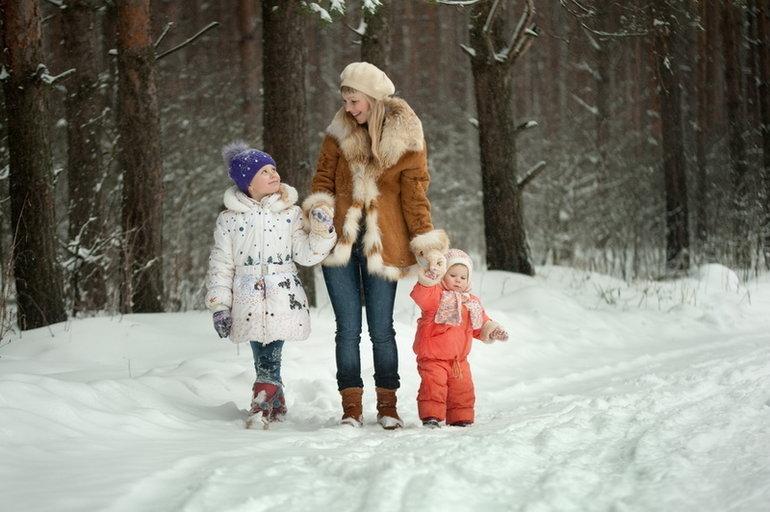 этого нужно картинка зимняя прогулка с семьей вскоре