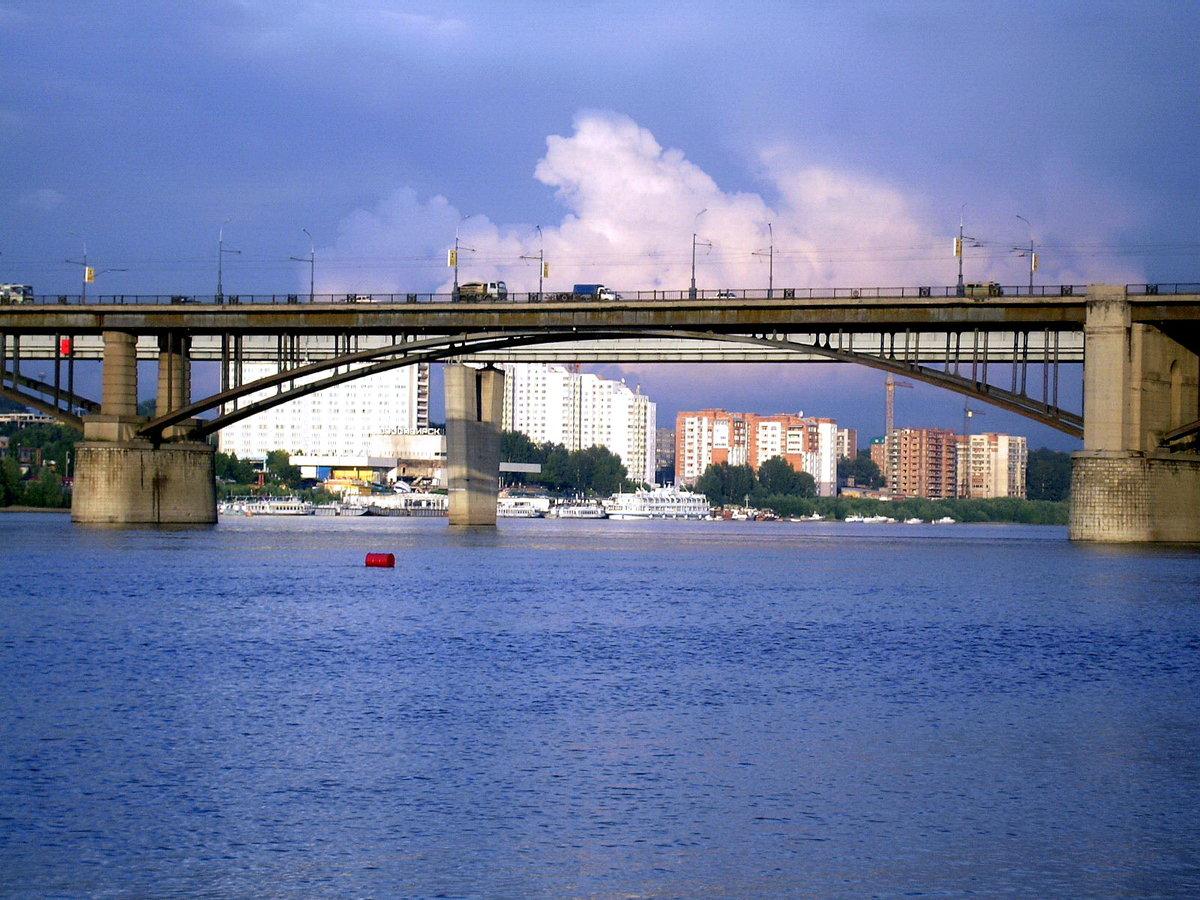 картинка коммунальный мост новосибирск том венце, которого
