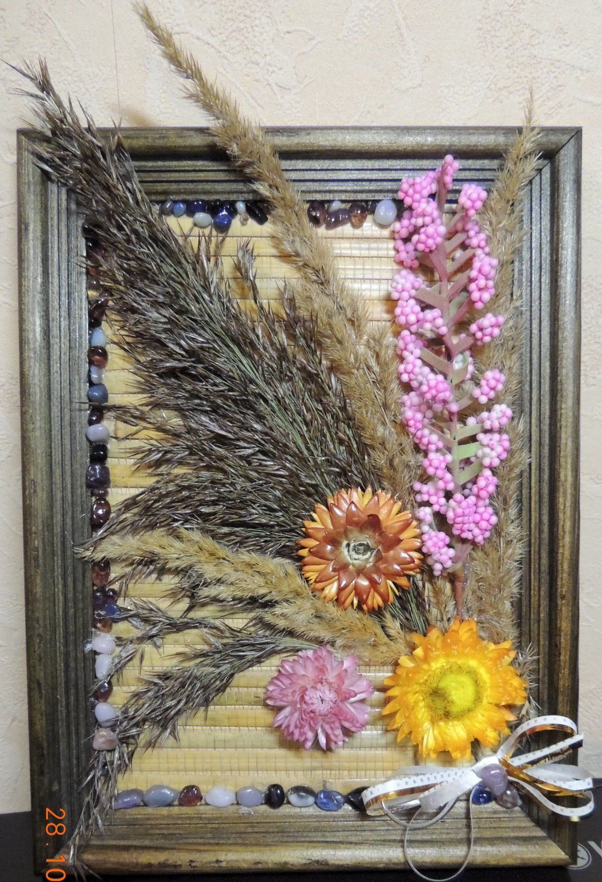 Картинки коллажи сухоцветы под
