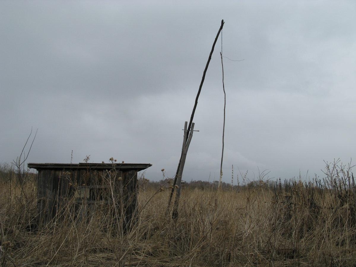 картинка в деревне у колодца высокий журавль этого