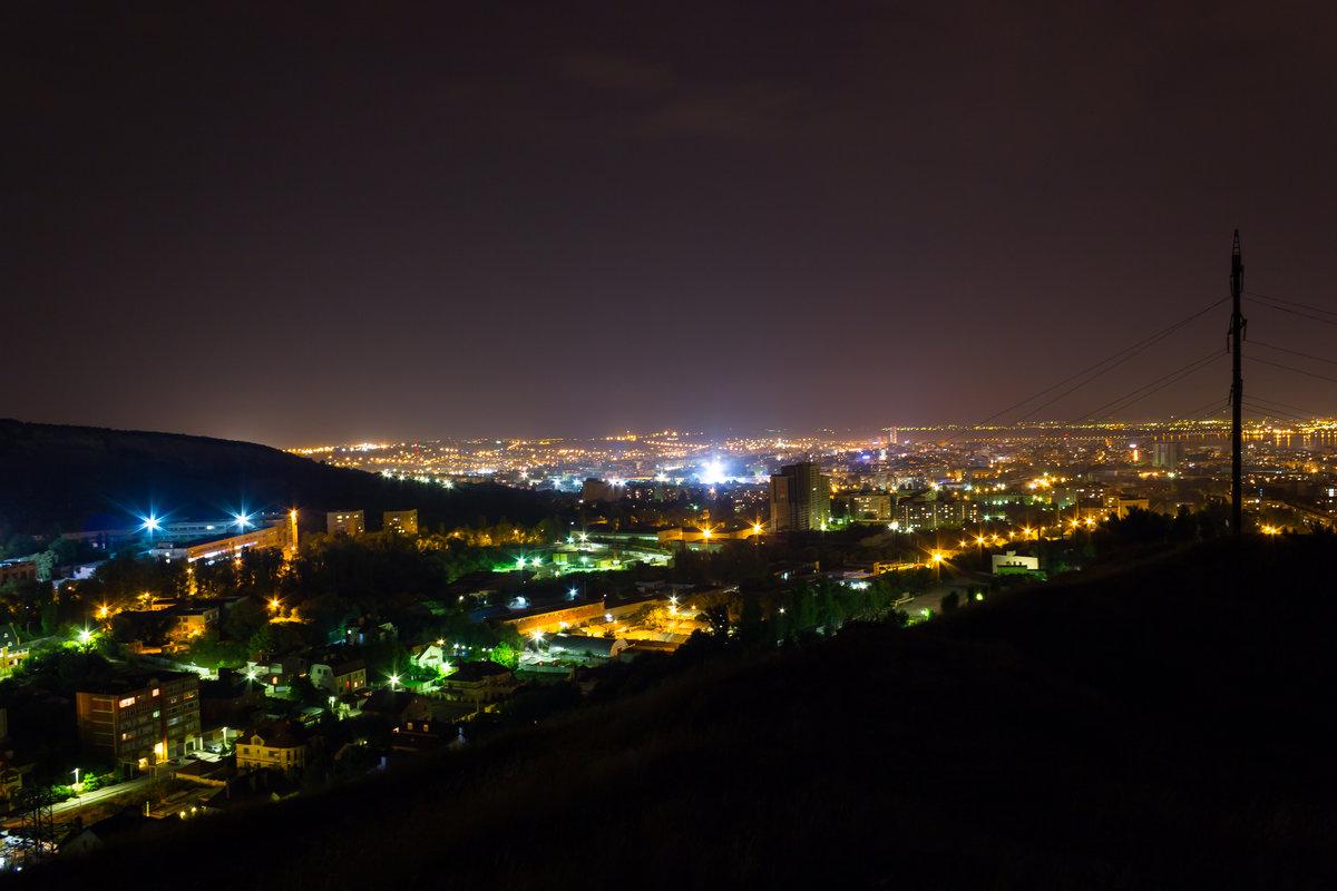 фото ночного абинска технические