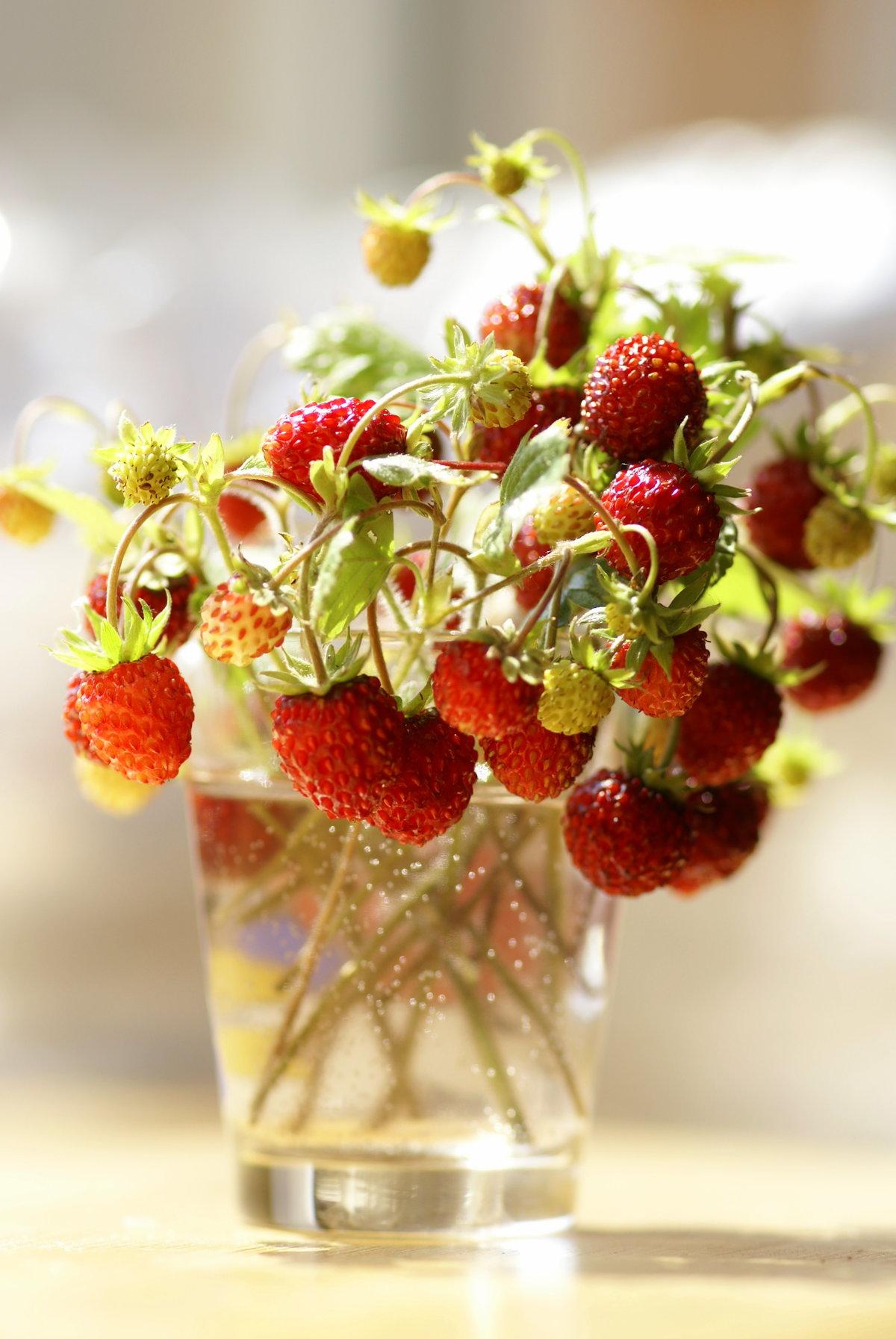 ягодное утро картинки сковороде