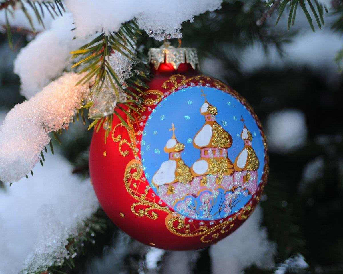 Новогодние картинки православные, пишут открытках