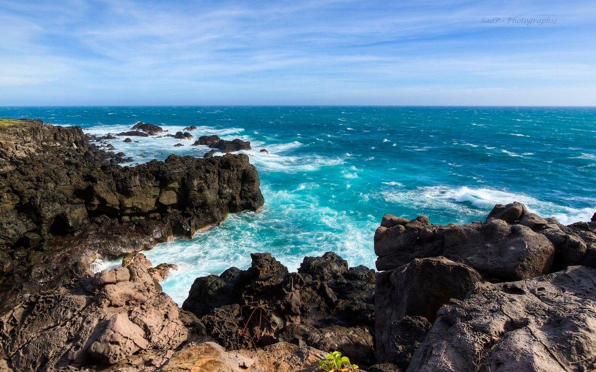 обои море берег скалы букетов для любого