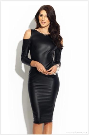 acdef343552 34 карточки в коллекции «Кожаное платье с длинными рукавами  женские ...
