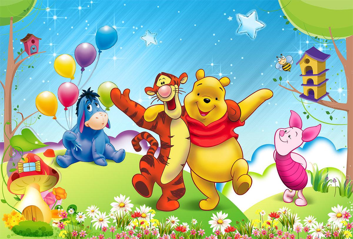 Открытки пожеланиями, веселые детские картинки из мультфильмов