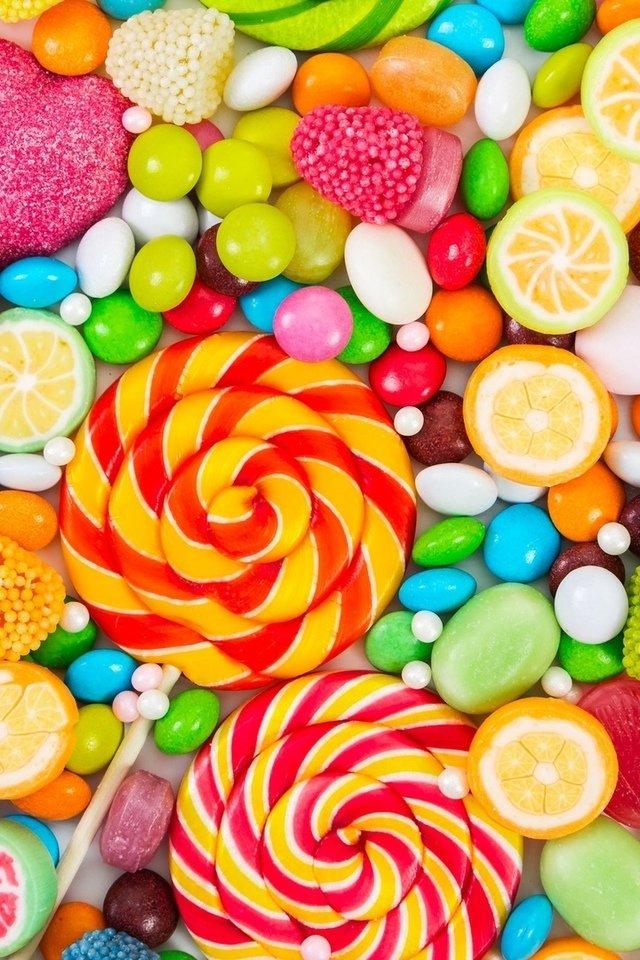 для картинки сладостей карамель заключены компактные корпусы