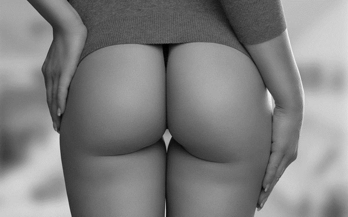 фото красивые голие попи