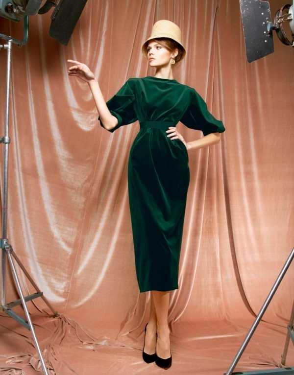 Удивительное зеленое платье: создаем идеальный образ