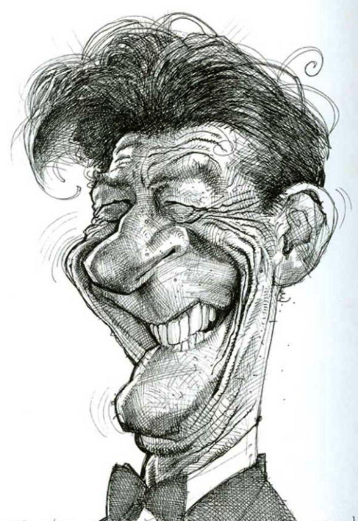 Рисунки смешные людей