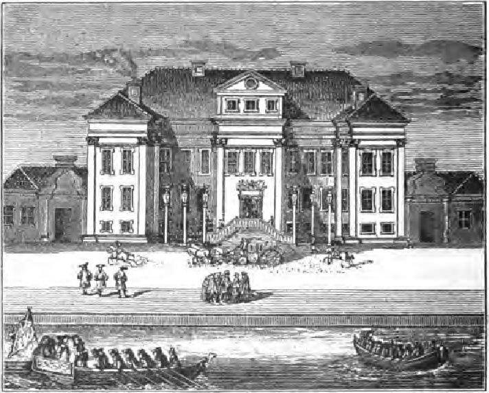 Зимний дворец Петра Великого.