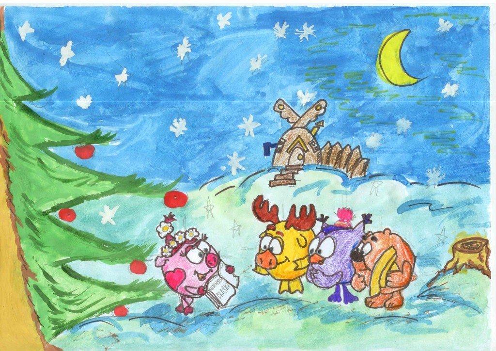 Детские рисуночки картинки