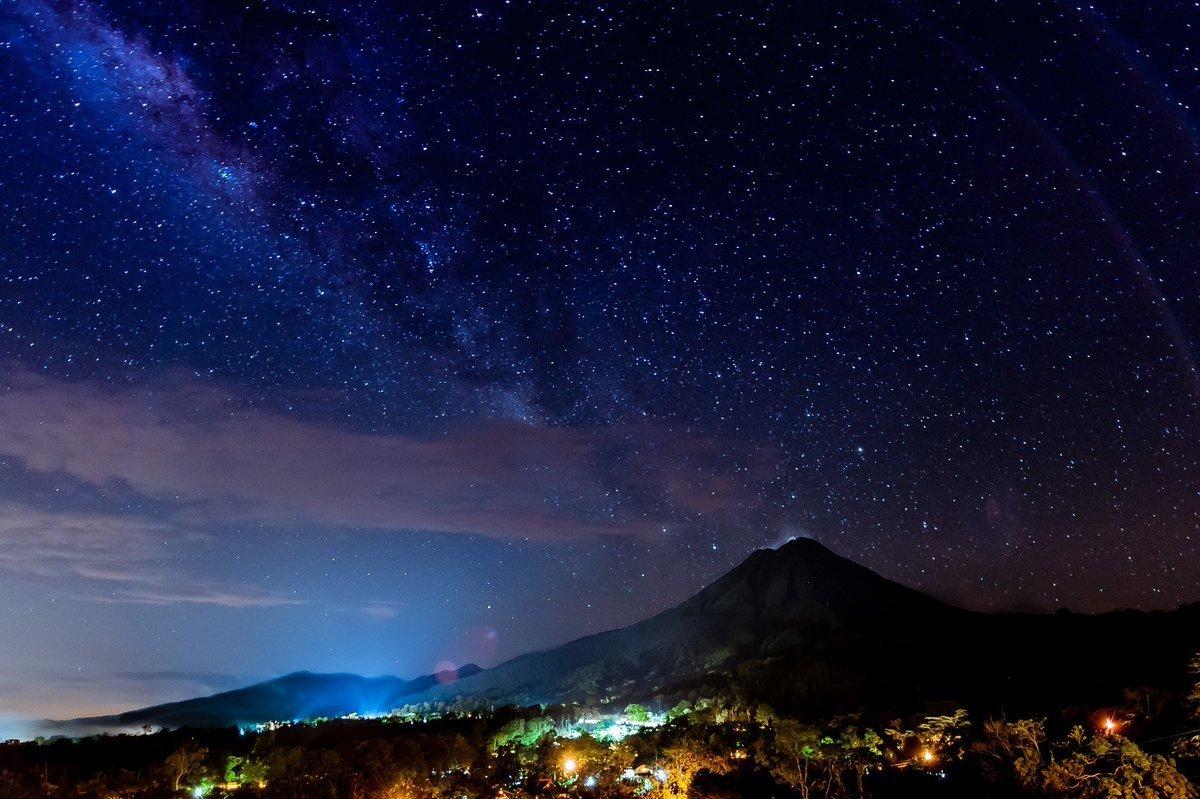 Красивое небо картинки ночь