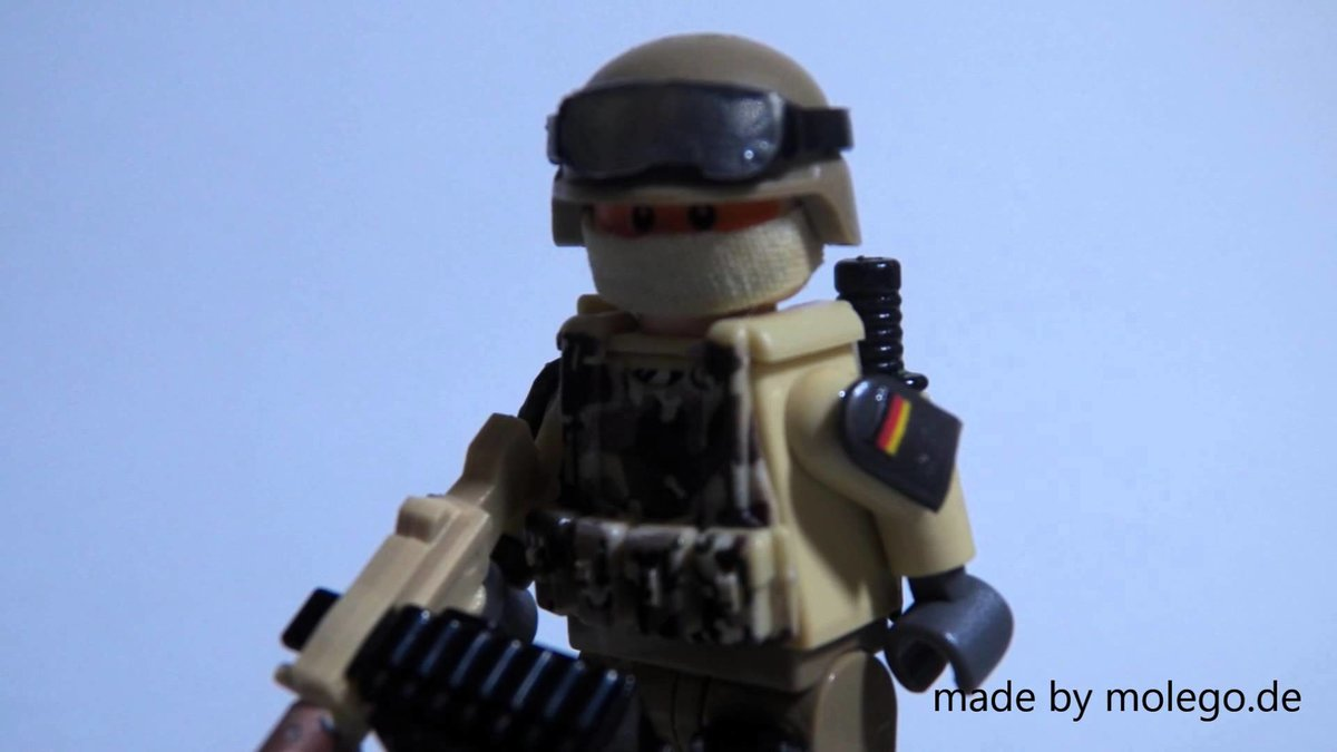 00e5ab556fd9 LEGO German Bundeswehr ISAF Soldier Custom HD - YouTube