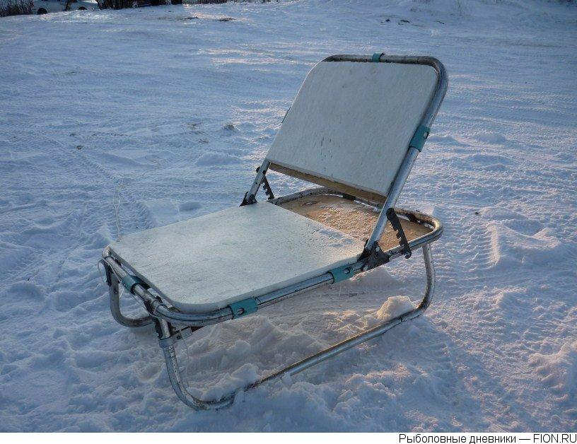 Кресло для зимней рыбалки своими руками