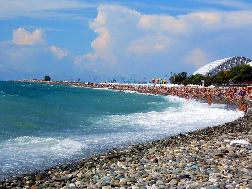 Фото в адлере на пляже