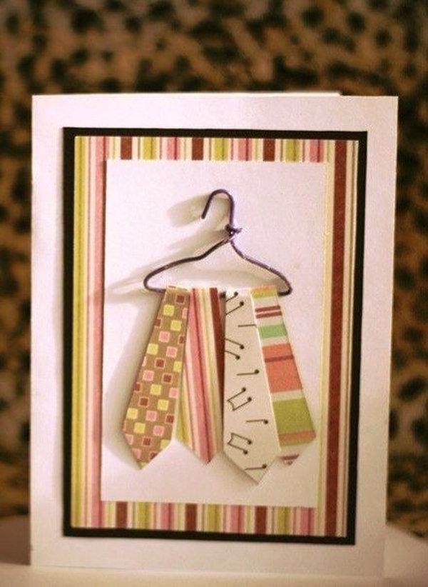 Шоколадного настроения, оригинальная открытка на 23 февраля своими руками для