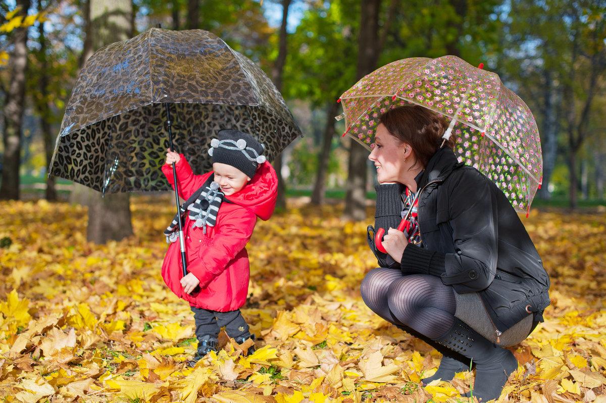 Осень картинки люди