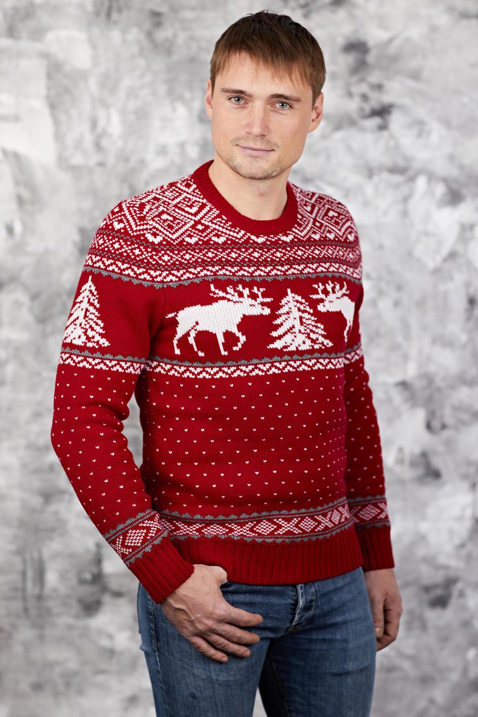 будет картинки на свитер с оленемер талантливого