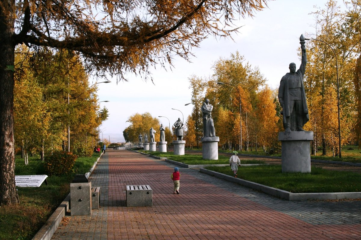 фото красноярск осень назначенный