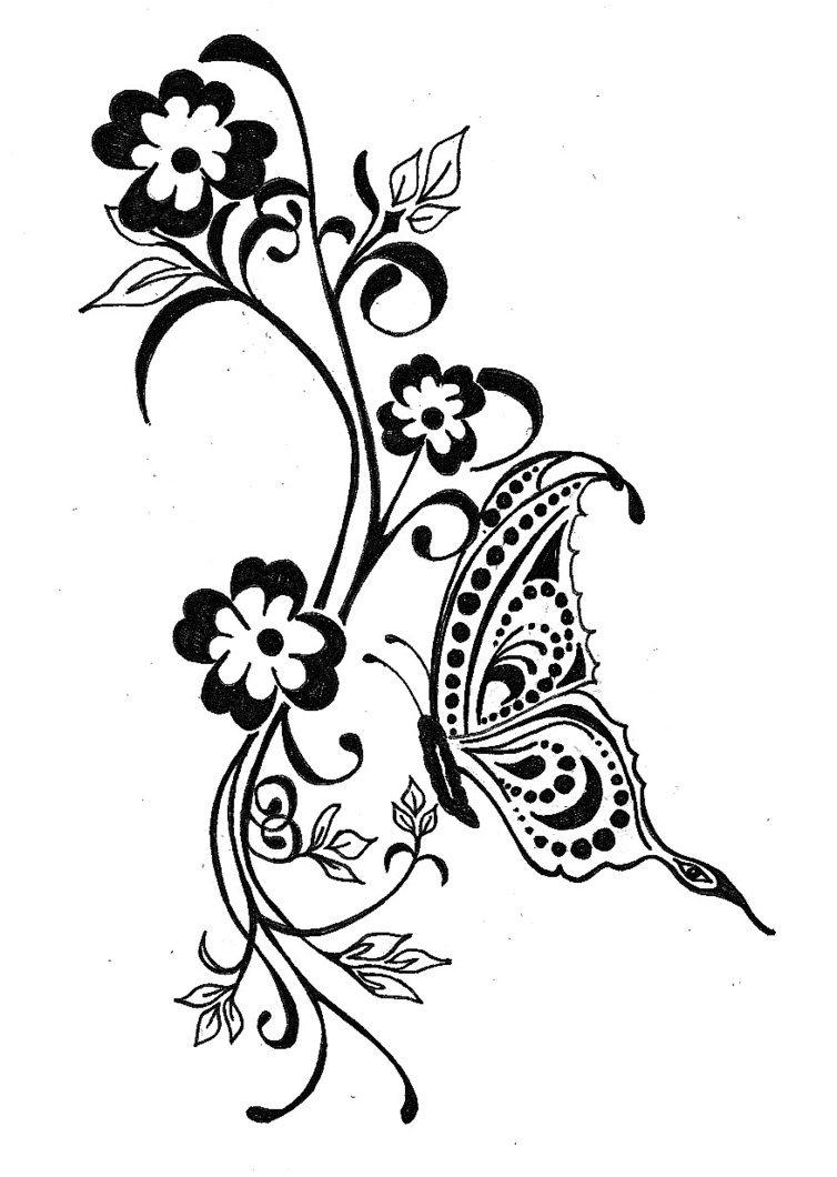 Татуировки с картинками и орнаментами