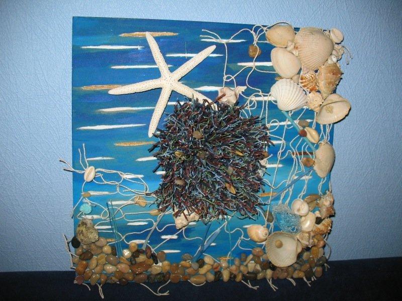 быть, картинки из природного материала морские нас есть