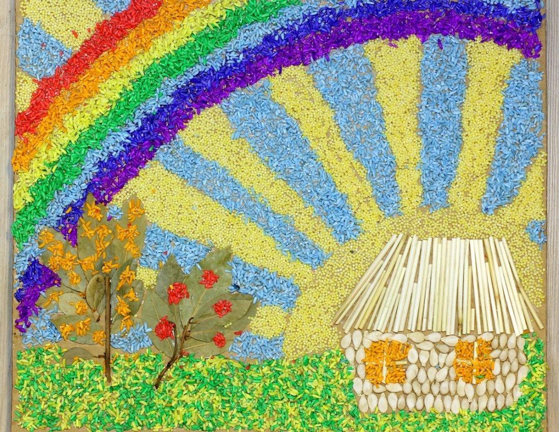 поделка на тему краски лета фото днем рожденья