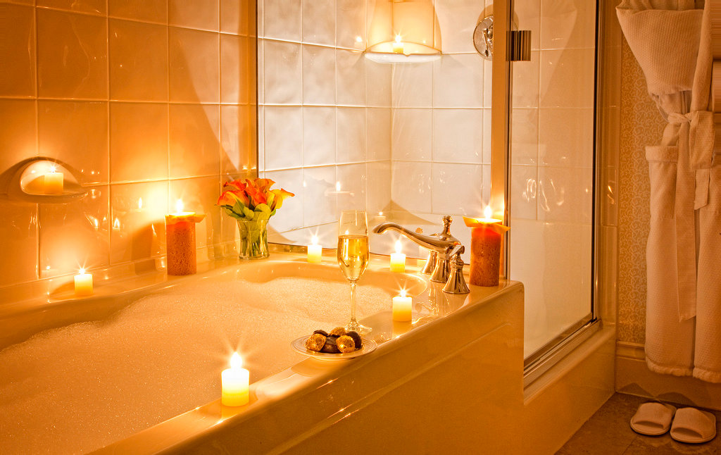 romantic bathtub ideas - 1024×646