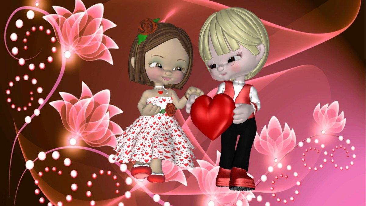 Поздравления, день святого валентина видео открытки