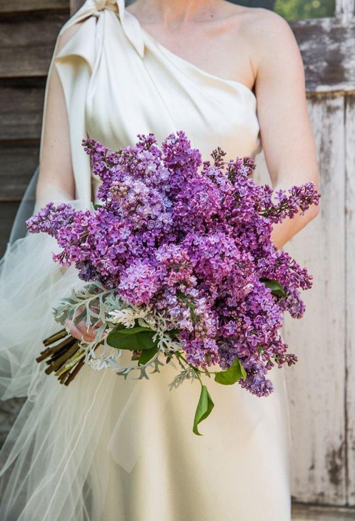 Букет невесты из сирени и ромашки, доставкой цветы алматы