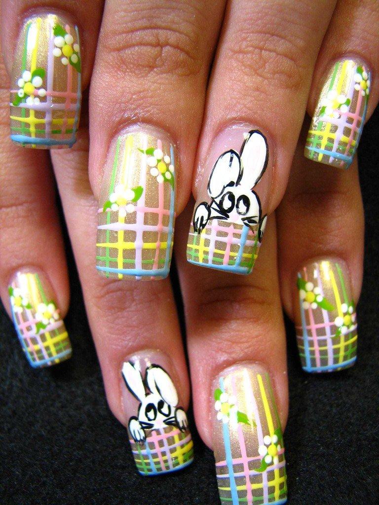 Открытку днем, фото рисунки ногтях смешные
