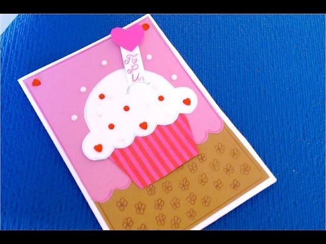 Как, как сделать открытку на день рождения тете