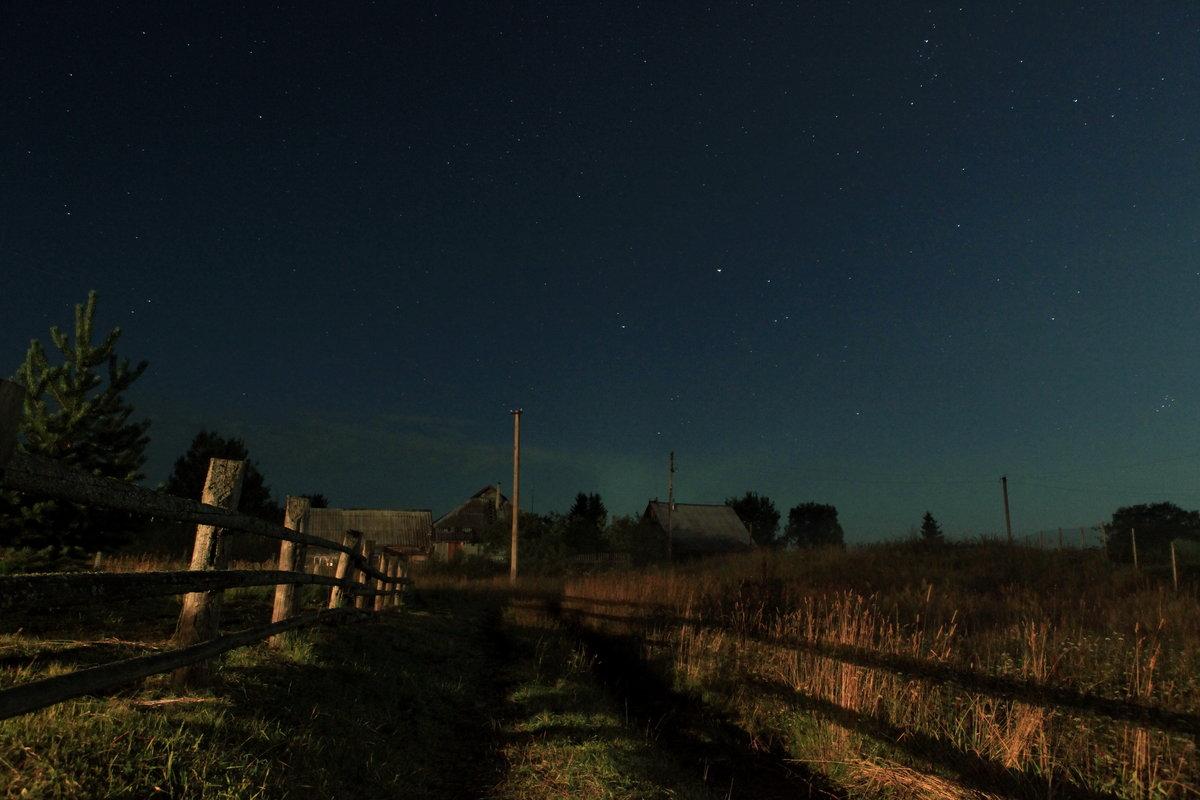 Звезды в деревне картинки