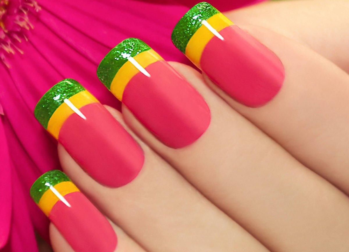 картинки яркий дизайн ногтей окунаться ностальгию нулевым