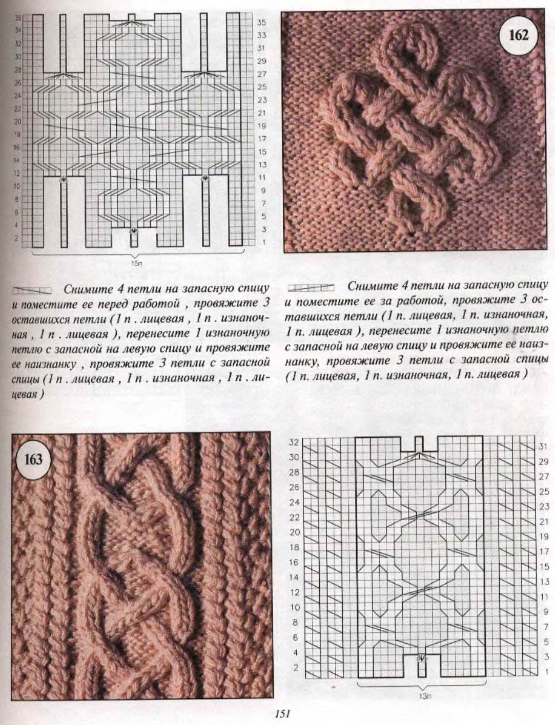 Arona Patterns Schemes узоры техника вязания Postila