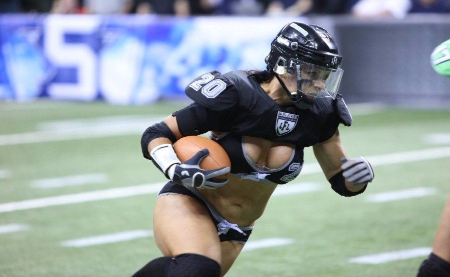 Big boobed women with football helmet, anal warriors porn
