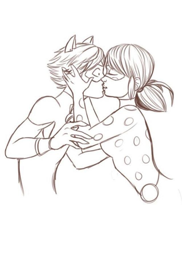 Обезьяны смешные, леди баг и супер кот рисунок карандашом