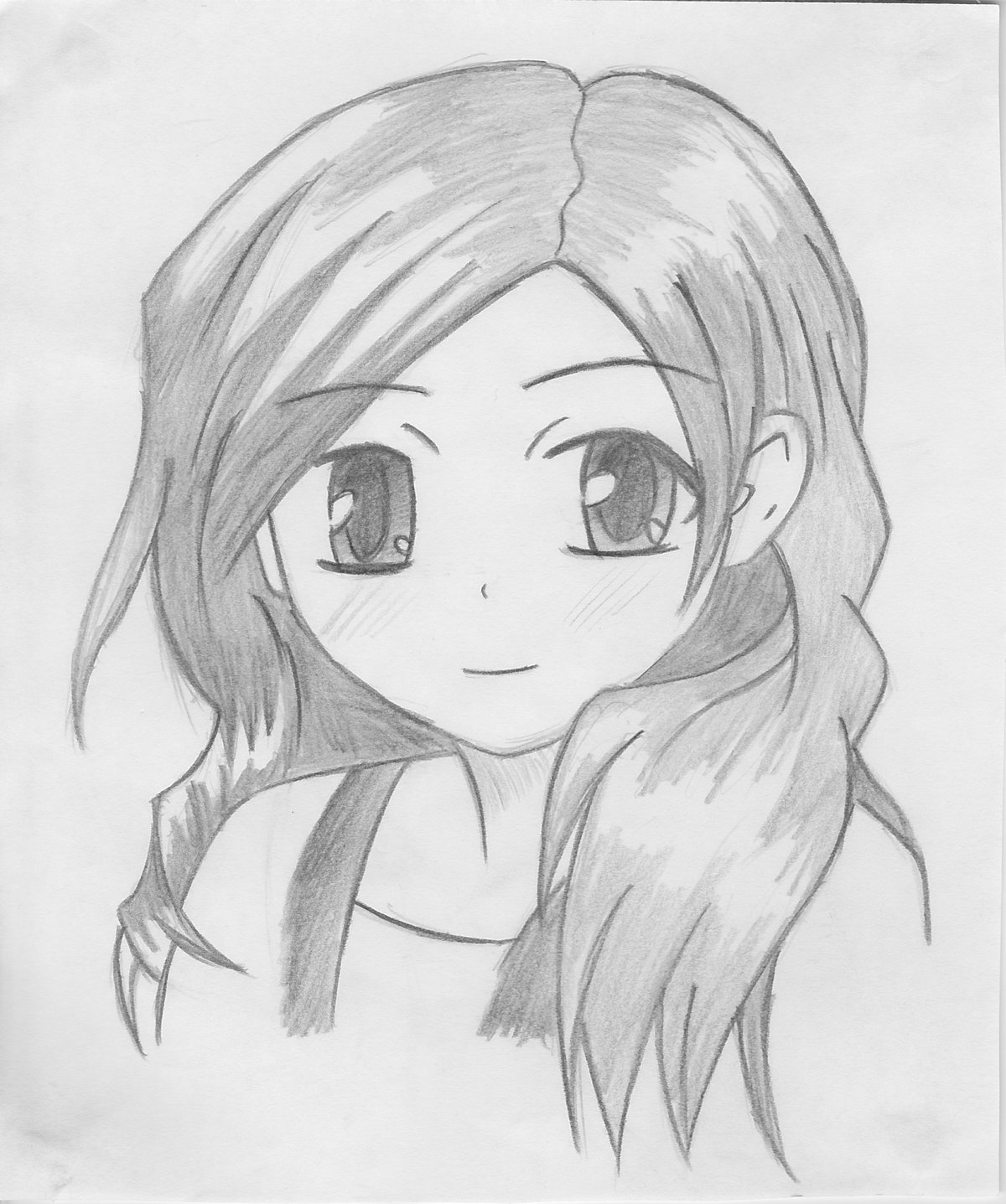 Anime cute simple pencil drawing see more about anime cute simple pencil drawing