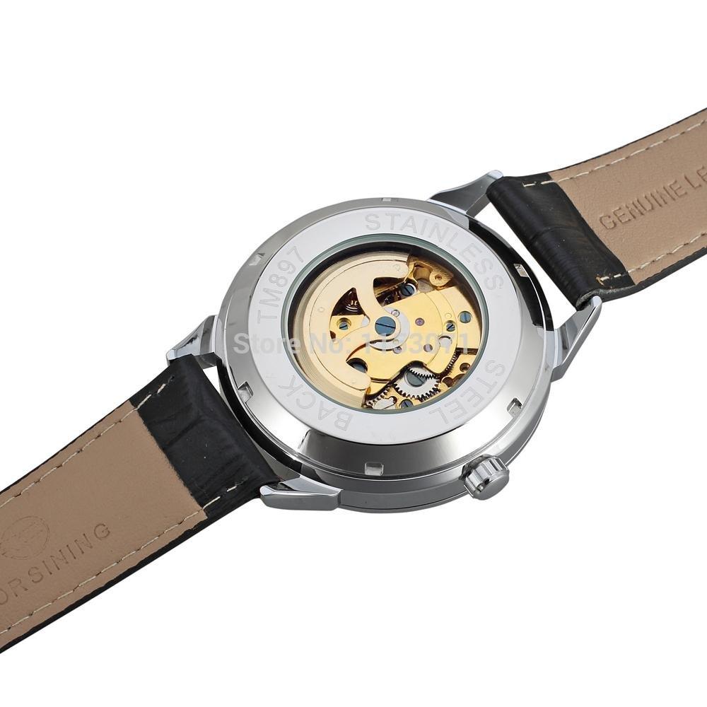 Forsining роскошные moon phase дизайн шанхай движения мода повседневная одежда автоматические часы весы циферблат мужские китайские автоматические часы.