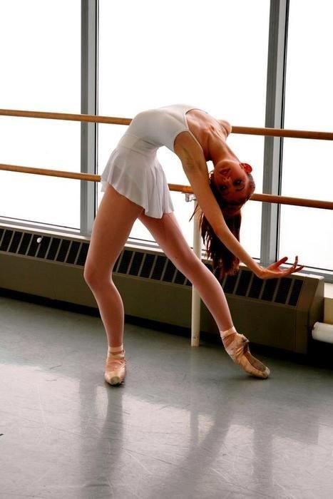 невероятно гибкие балерины первых русских
