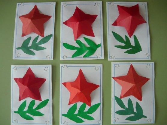 Как сделать с детьми открытку к 23 февраля, открытка открытки лет