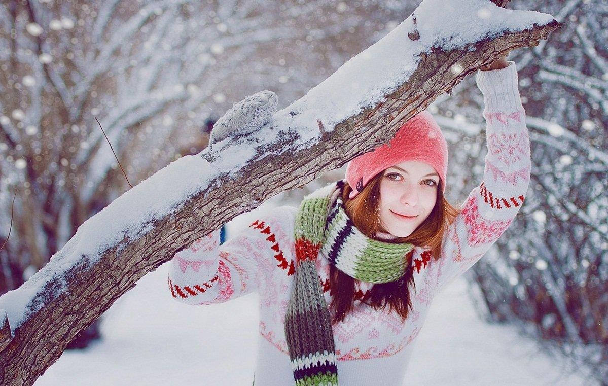 оформление как фотографироваться зимой на улице позы себя